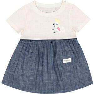 Manguun Kleid, Vogel, Taschen, für Baby Mädchen