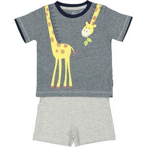 Manguun Set, T-Shirt, Shorts, Giraffe, für Baby Jungen