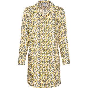 Manguun Nachthemd, durchgehende Knopfleiste, für Damen