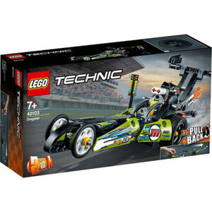 Technic 42103 Dragster Rennauto