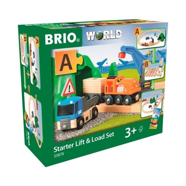BRIO - Starterset Güterzug mit Kran