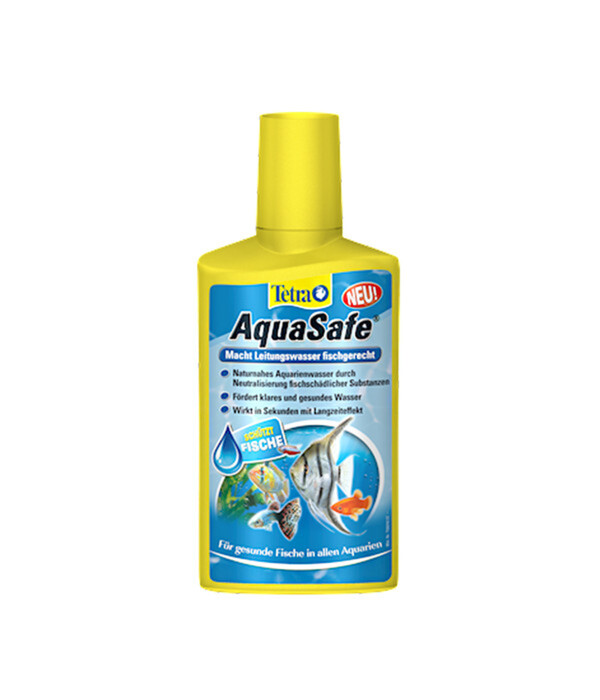 Tetra AquaSafe zur Wasseraufbereitung