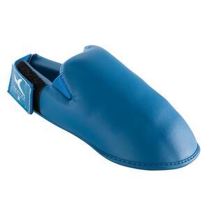 Karate-Fussschutz blau