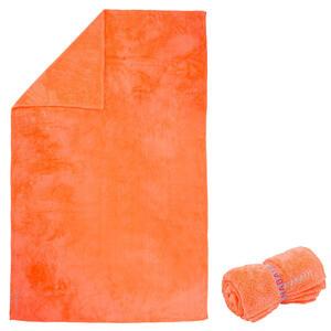 Mikrofaser-Badetuch weich Größe XL 110×175cm orange