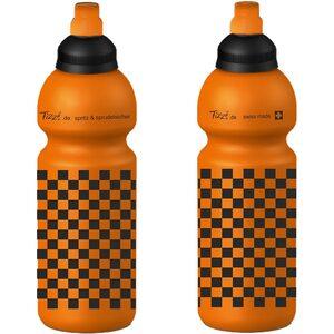 Fizzii Trinkflasche Schach, Orange, 600 ml