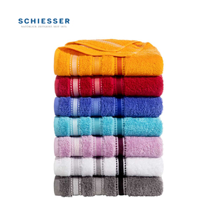 Handtuch 100 % Baumwolle, 50 x 100 cm oder o. Abb. Gästetuch 2er-Pack, 30 x 50 cm je 5,99€, o. Abb. Duschtuch 70 x 140 cm 12,99 €