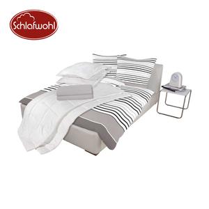 Microfaser-Bettenset versch. Dessins, bestehend aus: 2 Einziehdecken, 135 x 200 cm 2 Kopfkissen, 80 x 80 cm 2 Bettbezügen, 135 x 200 cm 2 Kopfkissenbezügen, 80 x 80 cm 2 Spannbetttüchern, 100 x 20
