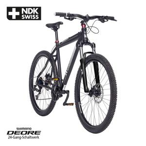 Alu-Mountainbike Swiss Life NDK 27,5er oder 29er - Shimano Daumenschalthebel - Rahmenhöhe: 52 cm