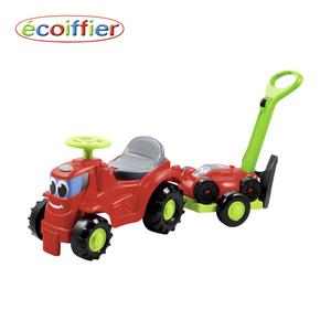 Kindertraktor mit Anhänger und Rasenmäher ab 12 Monaten