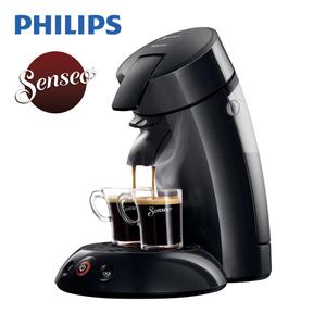 Kaffee-Padautomat HD 6553/XX Original · für 1 - 2 Tassen/Becher · abnehmbare Teile spülmaschinenfest