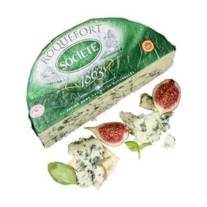 President Roquefort Französischer Edelpilzkäse mit Rohmilch, 52 % Fett i. Tr., je 100 g