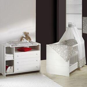 home24 Babyzimmer Eco Stripe (2-teilig)