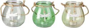 Teelichtglas - 10 x 10 cm - 1 Stück