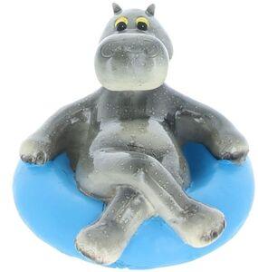 Schwimmfigur - Nilpferd im Schwimmreifen