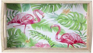 Tablett - Flamingos - aus Holz - verschiedene Größen