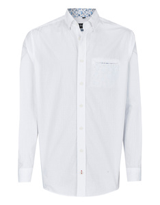 Bexleys man - Freizeithemd, langarm, uni