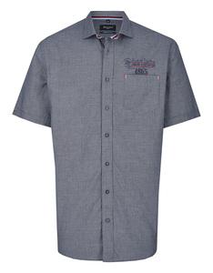 Bexleys man - Freizeithemd, kurzarm, kleinkariert