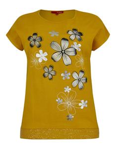 THEA - Shirtbluse mit floralem Druck