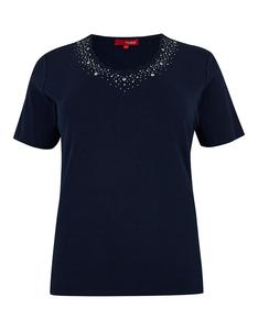 THEA - T-Shirt mit Ziersteinen