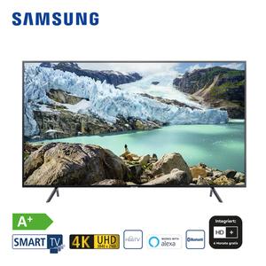 "UE75RU7099 • 3 x HDMI, 2 x USB, CI+ • integr. Kabel-, Sat- und DVB-T2-Receiver • Maße: H 96,6 x B 168,5 x T 6 cm • Energie-Effizienz A+ (Spektrum A++ bis E) Bildschirmdiagonale: 75""/189 cm"