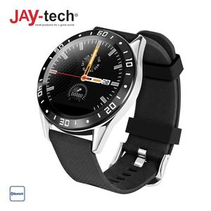 Smartwatch 1080 · Digitale Zifferblattanzeige · Schrittzähler, Blutdruck- und Blutsauerstoffmesser, Schlafüberwachung, Pulsmesser · Push-Nachrichten-Anzeige · Wasserfest gemäß IP67 · Android