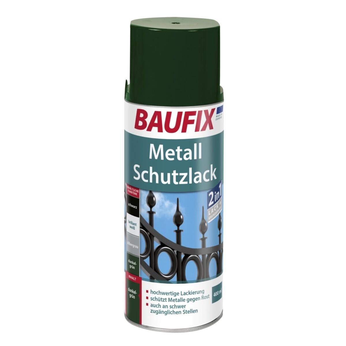 Bild 1 von Baufix Metallschutzlack - Dunkelgrün