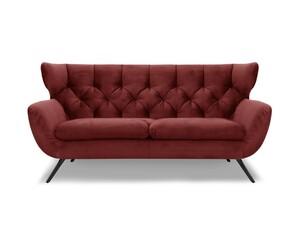 Seca 2,5-Sitzer Sofa Gerry Hilbert handmade
