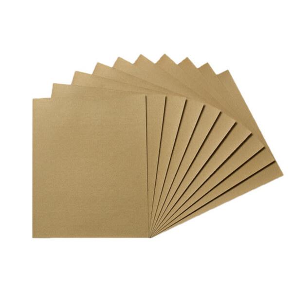 Trockenschleifpapier 10 Bögen mit verschiedenen Stärken