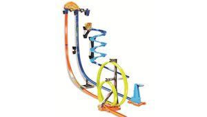 Mattel - Hot Wheels - Track Builder Senkrechtstarter Stunt-Set