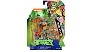 Jazwares - Rise Of The Teenage Mutant Ninja Turtles - Michelangelo Basic Action Figur