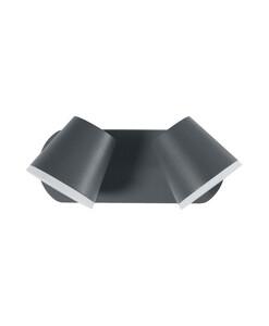 Ledvance LED Leuchte Endura Style Midi Spot, 20W, dunkelgrau, ca. 16,8 x 25,2 x 11,5cm
