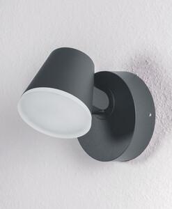 Ledvance LED Leuchte Endura Style Midi Spot, 13W, dunkelgrau, ca.16,2 x 12,5 x 12,8cm