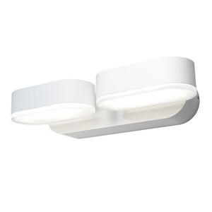 Ledvance Außenleuchte Endura Style Mini Spot 13W, Gehäuse Aluminium, weiß, ca. 10,0 x 23,0 x 5,4cm