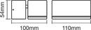 Bild 3 von Ledvance Außenleuchte Endura Style Mini Spot, 7,5W, Gehäuse Aluminium, weiß, ca. 10,0 x 11,0 x 5,4cm