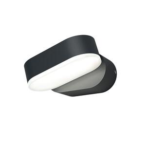 Ledvance Außenleuchte Endura Style Mini Spot, 7,5W, Gehäuse Aluminium, dunkelgrau, ca. 10,0 x 11,0 x