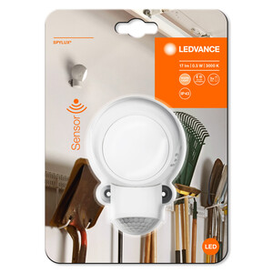 Ledvance mobile Leuchte Spylux, weiß, 0,3 Watt, ca. 6,8 x 9,9 x 6,8cm