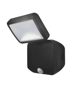 Ledvance Battery LED Spotlight single mit Sensor, schwarz, Batterien nicht incl., 4Watt, ca. 12,7 x