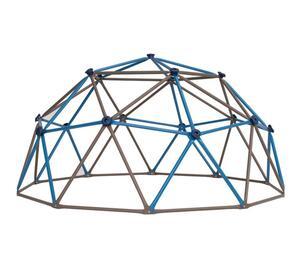 Geodome Klettergerüst braun/blau 274x137 cm