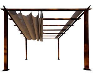 Paragon Outdoor Pavillon Florida 11x11 Cocoa Braun