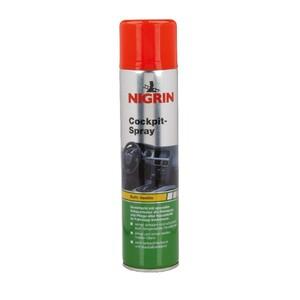 Nigrin Cockpitspray Schaum 400 ml Vanille seidenmatt