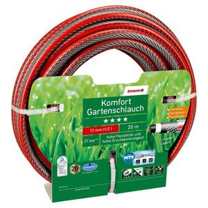 Gartenschlauch 'Komfort' Ø 13 mm 20 m rot