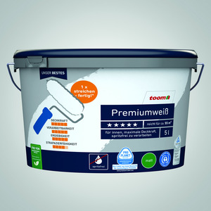 Premiumweiß 5 Liter konservierungsmittelfrei