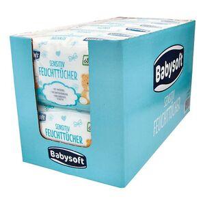 Babysoft Baby Feuchttücher Sensitive 160 Stück, 6er Pack