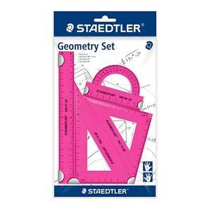 Staedtler Schulmaterialien - Geometrie Set 4tlg. pink