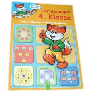 Lernhilfe - Kalle Köpfchen Lernübungen 4. Klasse