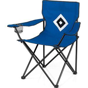 HSV Campingstuhl faltbar 80x50cm blau mit Logo