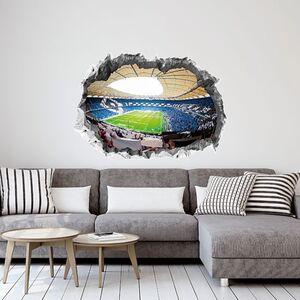 HSV Wandtattoo 3D nachleuchtend Volksparkstadion mehrfarbig