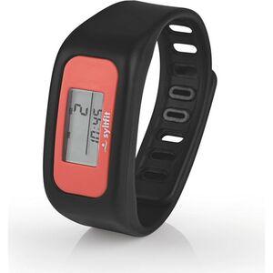 Syltfit Fitness-Armband 3V schwarz/koralle