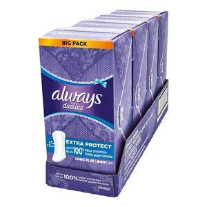 always Slipeinlage Extra Protect Long Plus Vorteilspack 40 Stück, 4er Pack