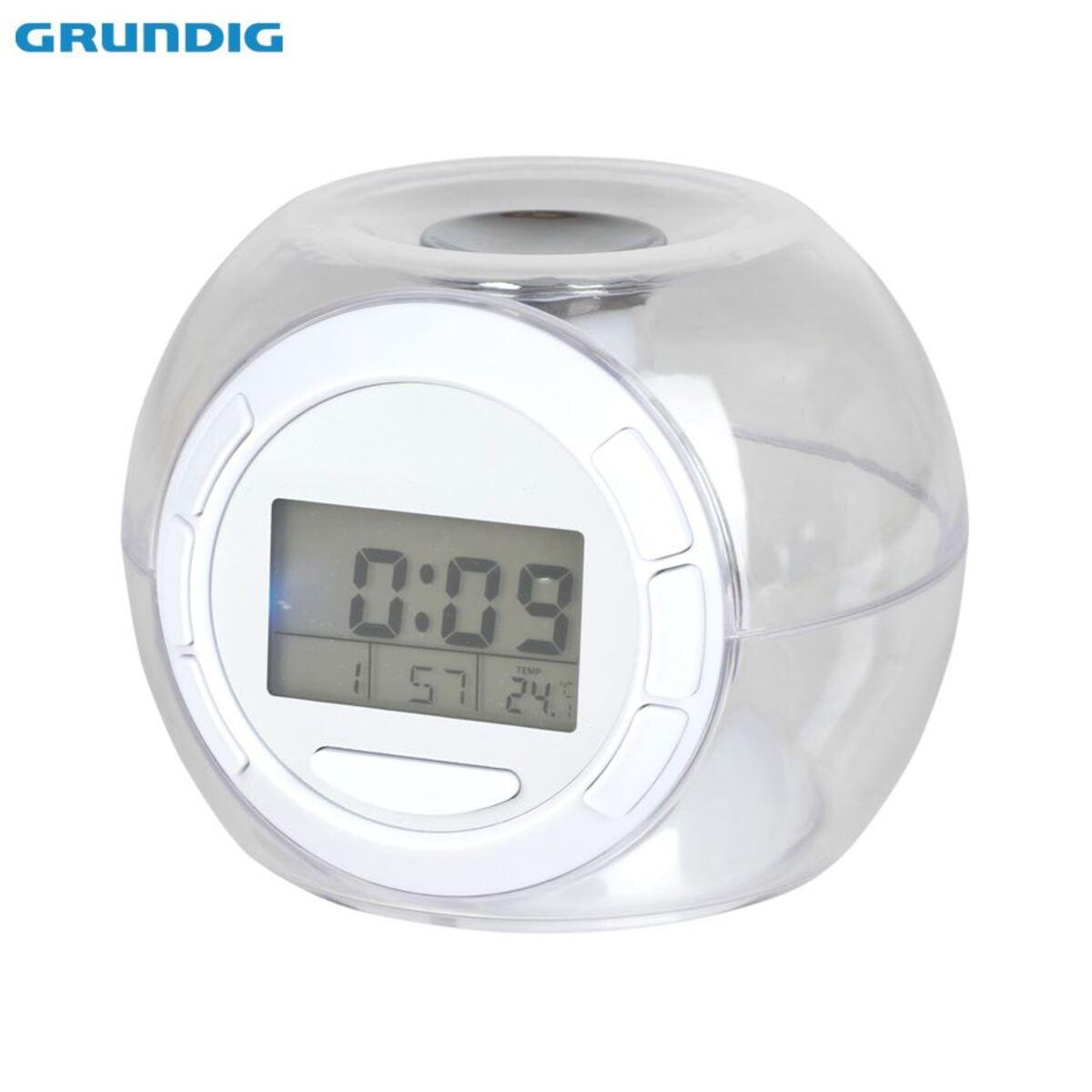 Bild 2 von Grundig LED-Kalenderuhr mit Weckerfunktion und Thermometer